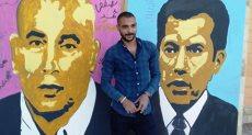 """""""ياسر مسعد الدينارى"""" أحد شباب بمحافظة بنى سويف"""