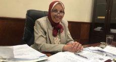 سهير عبد الحميد رئيس هيئة التأمين الصحى