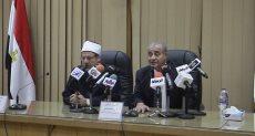 الدكتور على المصيلحى و الدكتور محمد مختار جمعة، وزير الأوقاف
