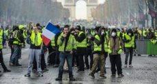 محتجين فرنسا - أرشيفية