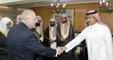 وزير العدل يستقبل وفد قضائى سعودى