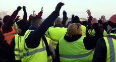 احتجاجات فى باريس