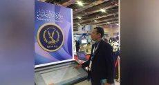 جانب من معرض القاهرة الدولي للاتصالات بالقاهرة الجديدة.