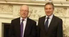 استقبال السفير المصري الجديد في لندن