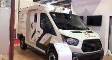 السيارة مدرعة جديدة لحماية نقل الأموال