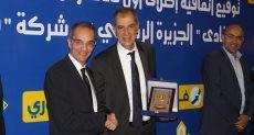 وزير الاتصالات الدكتور عمرو طلعت خلال توقيع بروتوكول التعاون