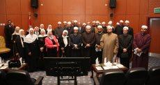 جانب من لقاء عمرو طلعت وزير الاتصالات و الدكتور محمد مختار جمعة وزير الأوقاف