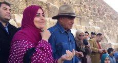 زاهى حواس عالم الآثار