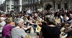 احتجاجات الطلاب فى الجامعات الفرنسية
