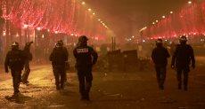 جانب من العنف فى فرنسا