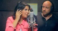 منى الشاذلى و أحمد مكى