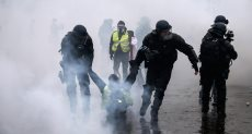 """اعتقال 278 شخصا بباريس قبيل احتجاجات """"السترات الصفراء"""""""