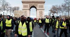 مظاهرات السترات الصفراء بفرنسا