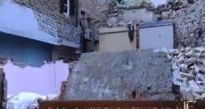 """""""كل يوم"""" يعرض تقريرا عن مأساة مواطنين بعد انهيار منازلهم"""