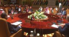 سامح شكرى وزير الخارجية خلال الاجتماع