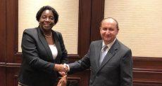 وزير التجارة يلتقي سكرتير عام الكوميسا