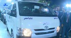 """سيدة الميكروباص تتسلم سيارة من صندوق """"تحيا مصر"""""""