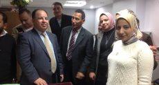 جولة وزير المالية فى المنطقة الجمركية بميناء الإسكندرية