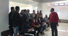 وزارة الشباب تنفذ برنامج التعليم المدني بجامعة العريش