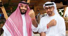 محمد بن سلمان وولى عهد أبو ظبى