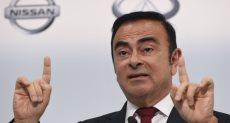 كارلوس غصن رئيس شركة نيسان السابق