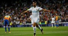 ماركو أسينسيو لاعب ريال مدريد