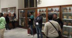 معرض الخبيئة بالمتحف المصرى
