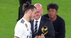 جاريث بيل أفضل لاعب فى كأس العالم للأندية 2018