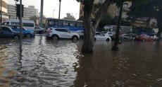 انفجار ماسورة مياه أمام ماسبيرو