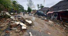 تسونامى بإندونيسيا
