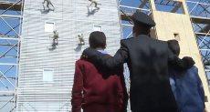 أطفال بلا مأوى بأكاديمية الشرطة