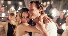 ميجان مع زوجها الأول