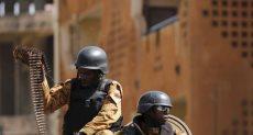 عناصر من الشرطة فى بوركينا فاسو