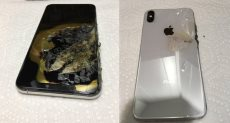 انفجار هاتف iPhone XS Max