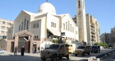 الشرطة تحمى الكنائس ودور العبادة فى محافظات مصر