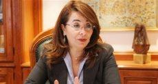 الدكتورة غادة والى وزير التضامن الاجتماعى