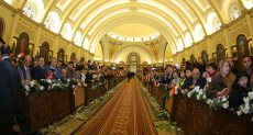 تنسيقة شباب الأحزاب تشارك فى قداس عيد الميلاد المجيد