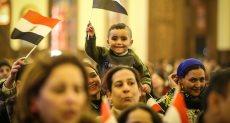 """أغنية الأطفال """"ربنا ما خلقش حد متعصب..ما خلقش حد بيكره"""" بافتتاح المسجد والكاتدرائية"""