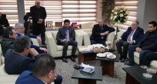 جلسة وزير الرياضة مع اتحاد الكرة
