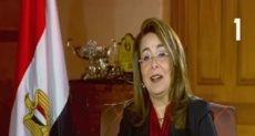 وزيرة التضامن الاجتماعى الدكتورة غادة والى