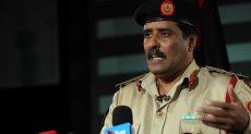 المتحدث باسم الجيش الليبي، العميد أحمد المسماري