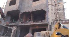 إزالة التعديات على المنطقة الأثرية بالأهرامات