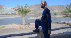 الشيخ محمد بن راشد آل مكتوم بملابس رياضية