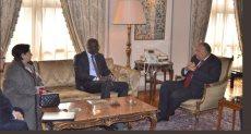 وزير الخارجية سامح شكرى يستقبل الأمين العام للاتحاد الدولى لجمعيات الصليب الأحمر
