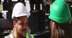 عبد الله كمال المهندس التنفيذى لمشروع محور روض الفرج