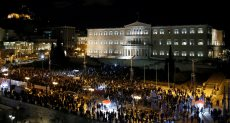 الأمن اليونانى يعتقل عدد من المحتجين على تغيير اسم مقدونيا
