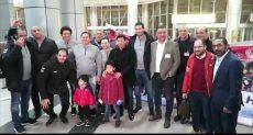 منتخب كرة اليد يصل القاهرة