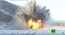 جانب من الانفجار