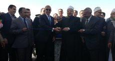 جانب من افتتاح وزير الأوقاف لمدينة الحرفيين بالغردقة