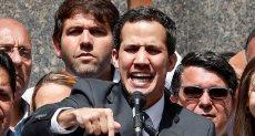 زعيم المعارضة الفنزويلى خوان غوايد